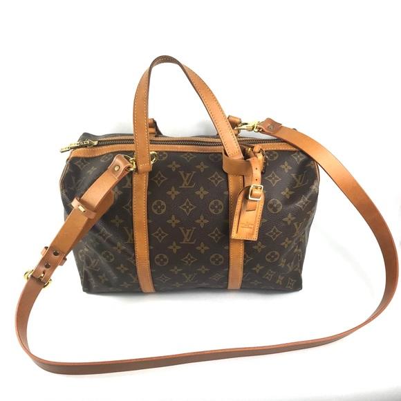 Louis Vuitton Handbags - RARE WEEKEND BAG🔥CROSSBODY DUFFLE LOUIS VU…